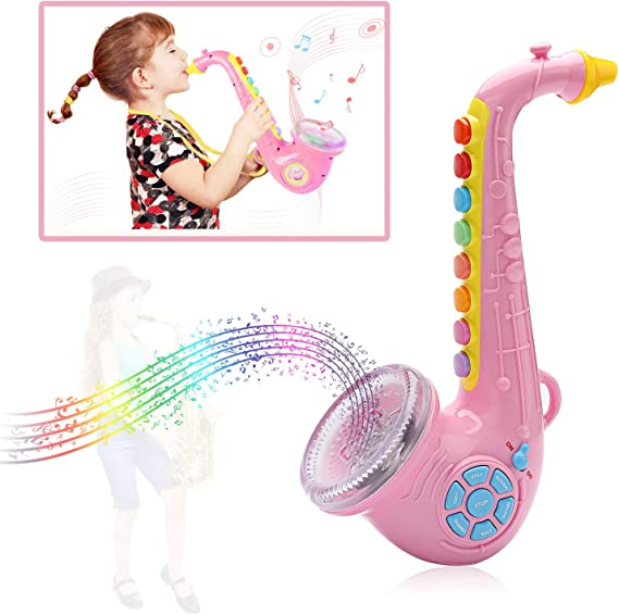 Amazon.com: PKBQUEEN Saxofón de fiesta para niños ...