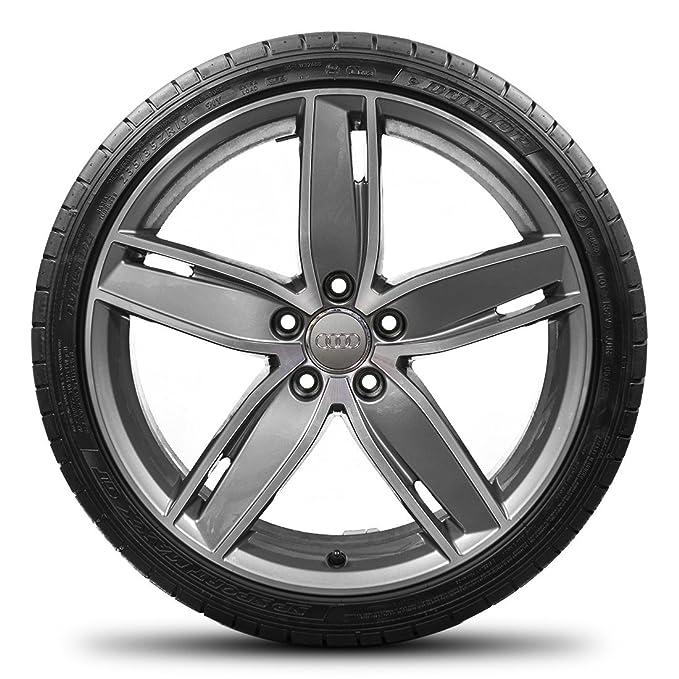 Audi S Line 19 Alloy Wheels A3 S3 8p 8 V Rims Dunlop Summer Tyre