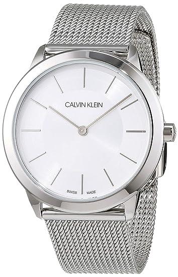 designer fashion e1759 e5efc Orologio Solo Tempo Calvin Klein Minimal K3M22126