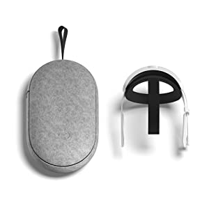 Oculus Quest 2 Elite Strap with Battery and Carrying Case for Enhanced Comfort and Playtime in VR