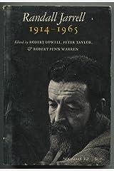 Randall Jarrell 1914-1965 Paperback