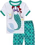 Little Hand Pajamas for Girls Short Sets Kids 100% Cotton Flamingos Sleepwear Toddler Pjs Summer Clothes Shirts