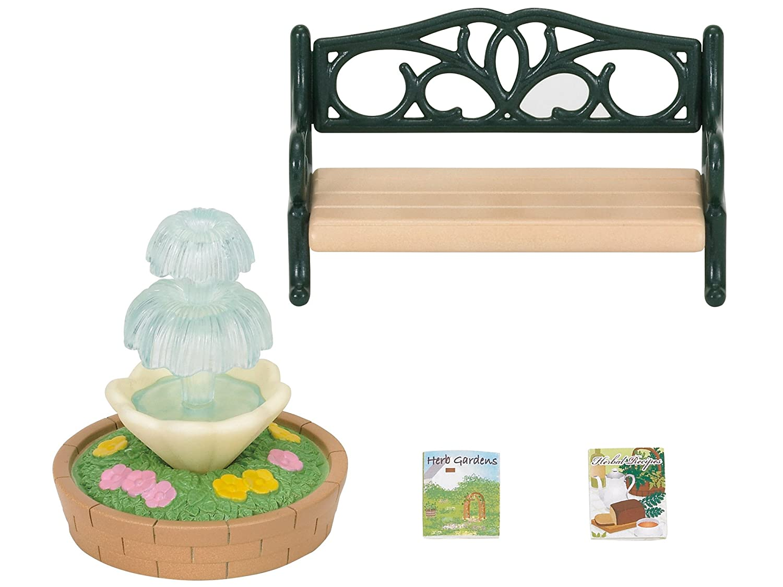 SYLVANIAN FAMILIES Epoch para Imaginar 4535 Bench /& Fountain Mini mu/ñecas y Accesorios,