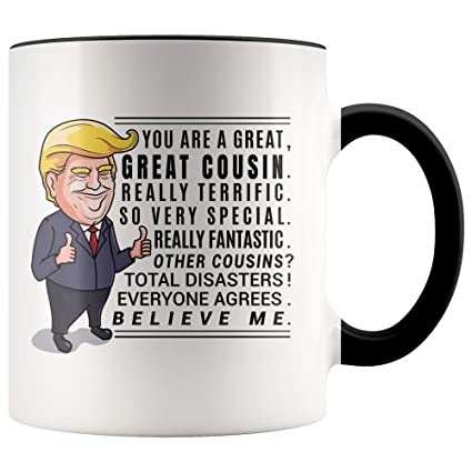 Amazon Trump Mug Cousin Gift Gifts For Moving