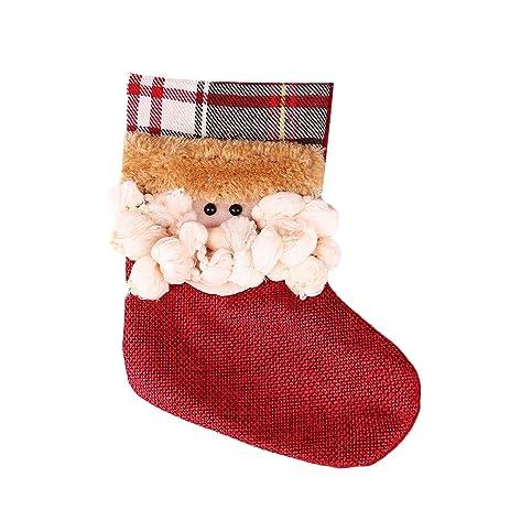 kicode home decor christmas gift bags sock candy bag for kids gift party supplies xmas tree - Amazon Christmas Home Decor