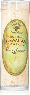 product image for Island Soap & Candle Works Bath Salt Tube, Coconut