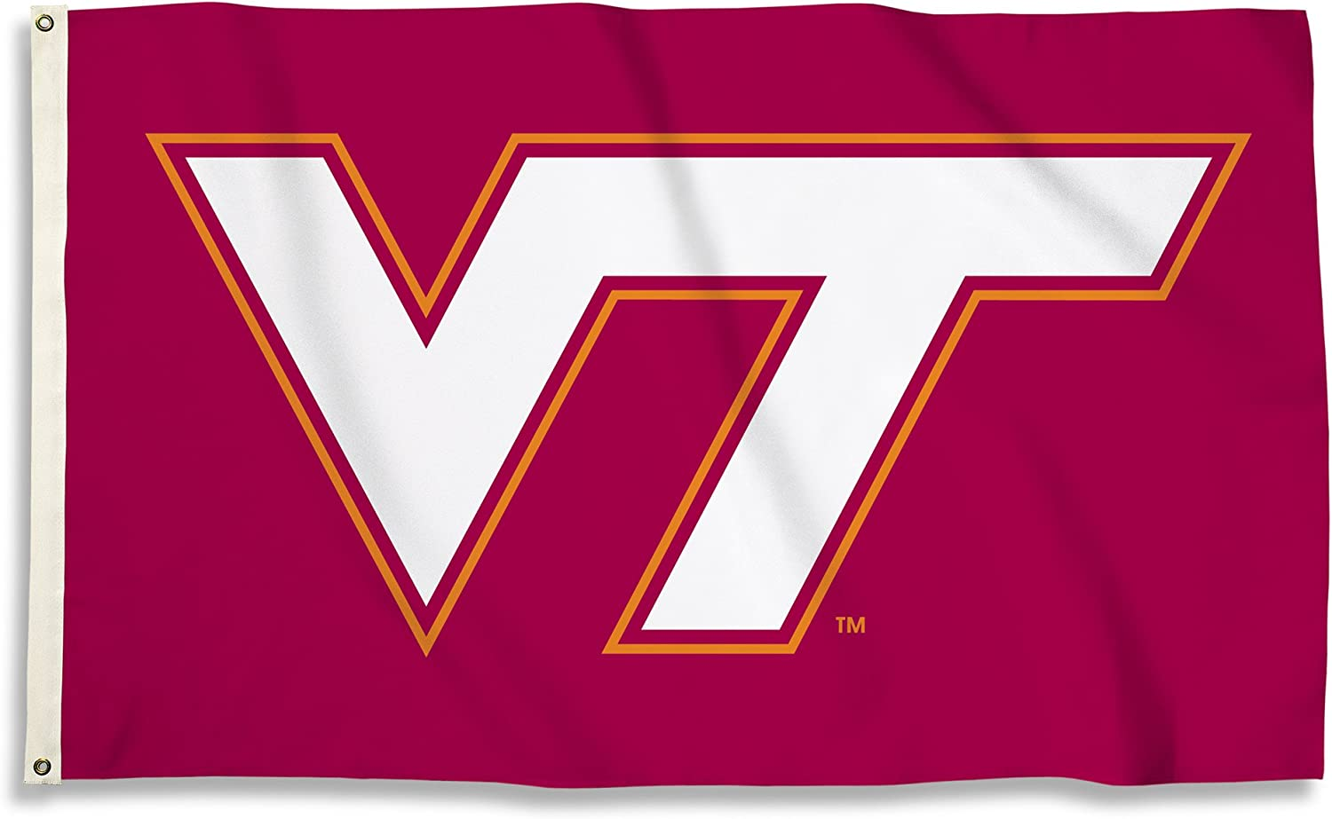 BSI NCAA College Virginia Tech Hokies 3 X 5 Foot Flag with Grommets