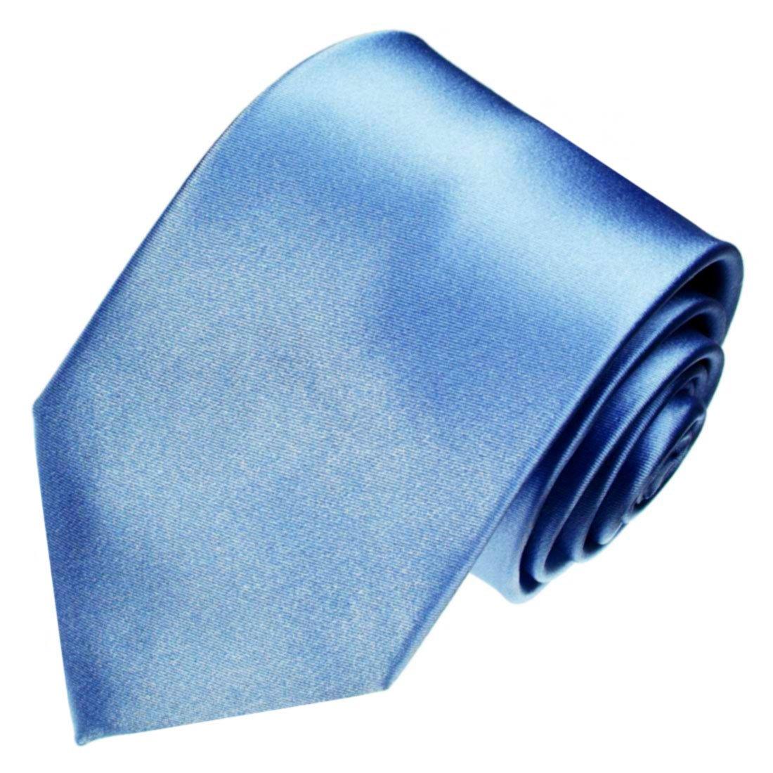LORENZO CANA - Marcas corbata de seda 100% - Corbata Azul Claro ...