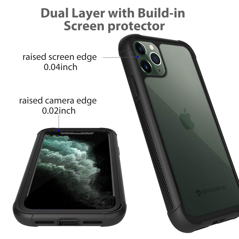 seacosmo Cover iPhone 7 Cover iPhone 8 360 Gradi Rugged Custodia