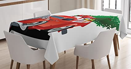 Understand christmas tablecloth vintage