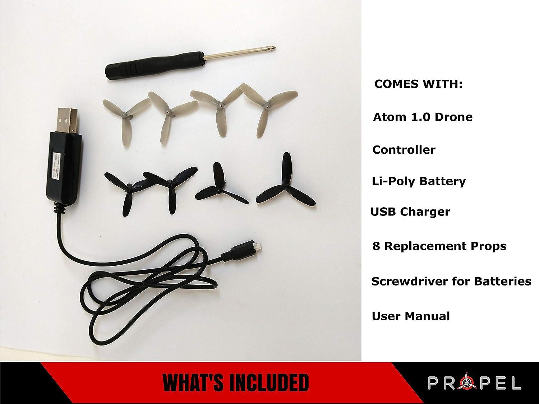 Propel RC BXPRPL1391-Micro Drone Atom 1.0 (Giro de 6 Ejes, 3 Modos ...