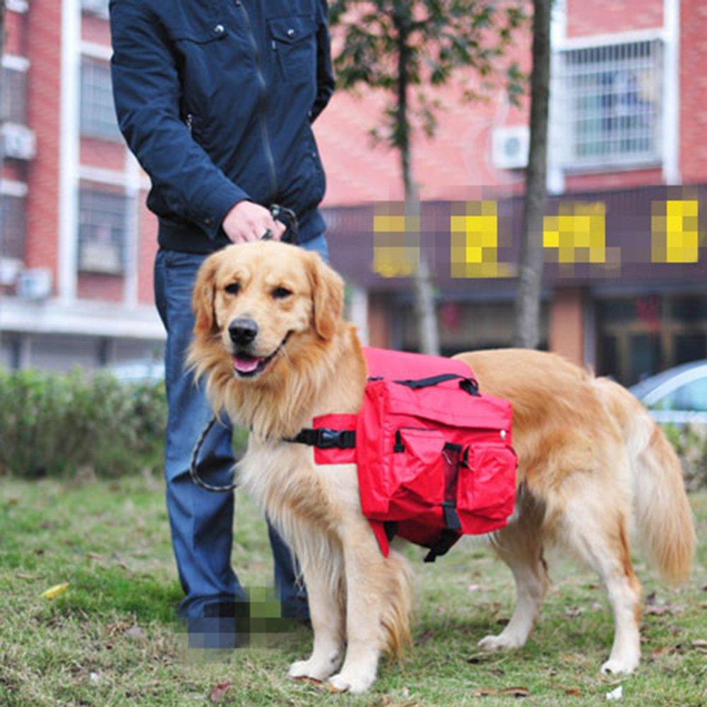 Mlec tech Mochila de Perro para Exterior Viajes Camping Senderismo Bolsa para Sillín de Bicicleta para Perros Medianos y Grandes: Amazon.es: Productos para ...