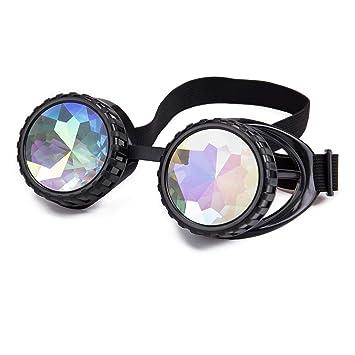 ZAIQUN Gafas de Sol Estilo Steampunk Vintage con Alambre de púas para Soldadura, Punk, gótico, Cosplay, Halloween: Amazon.es: Hogar