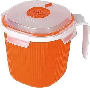 مج لتدفئة الحليب والشاي والشوربة بسعة 0.7 لتر من سنيبس - الوان متعددة، 000710