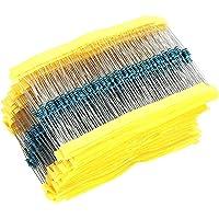 inherited 1280pcs Metal Film Resistors Kit, Juego