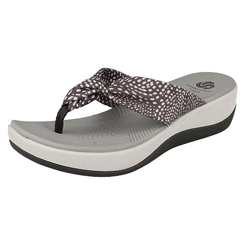 478765b21e8c Clarks Arla Glison Womens Toe Post Sandals 8 D (M) UK  10.5 B(M) US ...