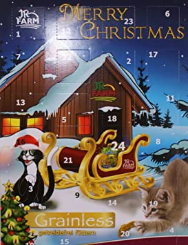 Jr Farm Calendrier De L Avent Pour Chat Amazon Fr Animalerie