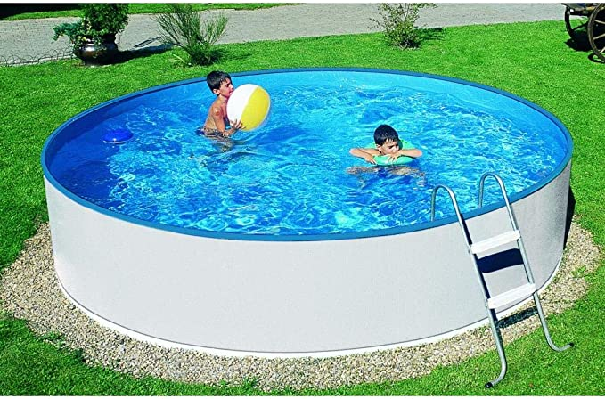 Mountfield AZURO Basic V3 - Piscina de Pared de Acero (240 x 90 cm ...