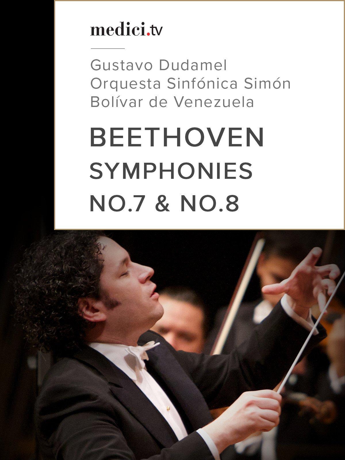 Beethoven, Symphonies No.7 & No.8 on Amazon Prime Video UK