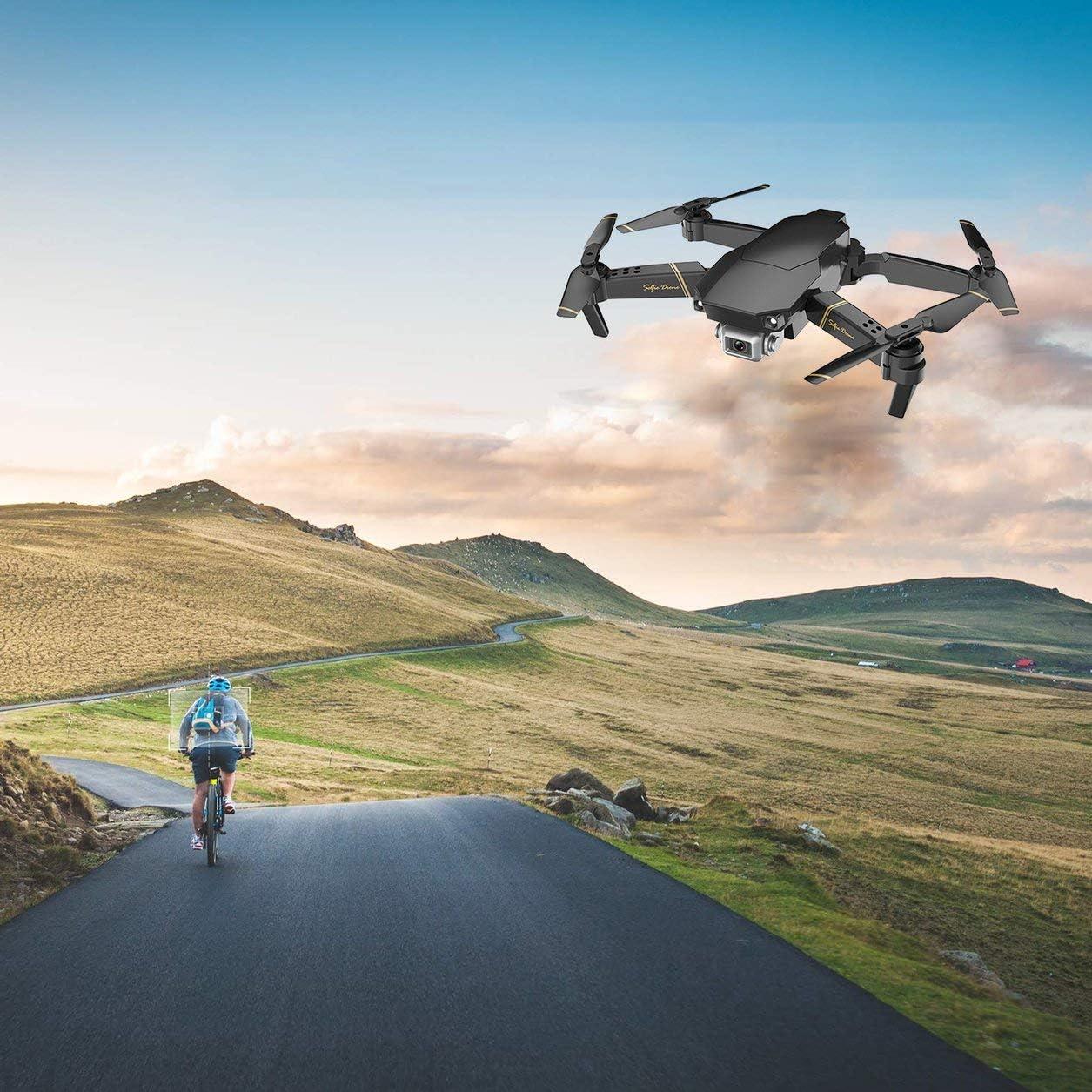 GD89 WiFi FPV con cámara 1080P HD 15 Minutos Tiempo de Vuelo Alitute Hold Modo Brazo Plegable Drone para avión RC con batería 3 * - Negro: Amazon.es: Electrónica