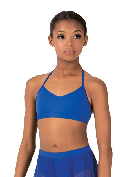 3cbf2fe026 Body Wrappers Child Skimpy Halter Dance Bra Top BWP1030BLKI Black  Intermediate