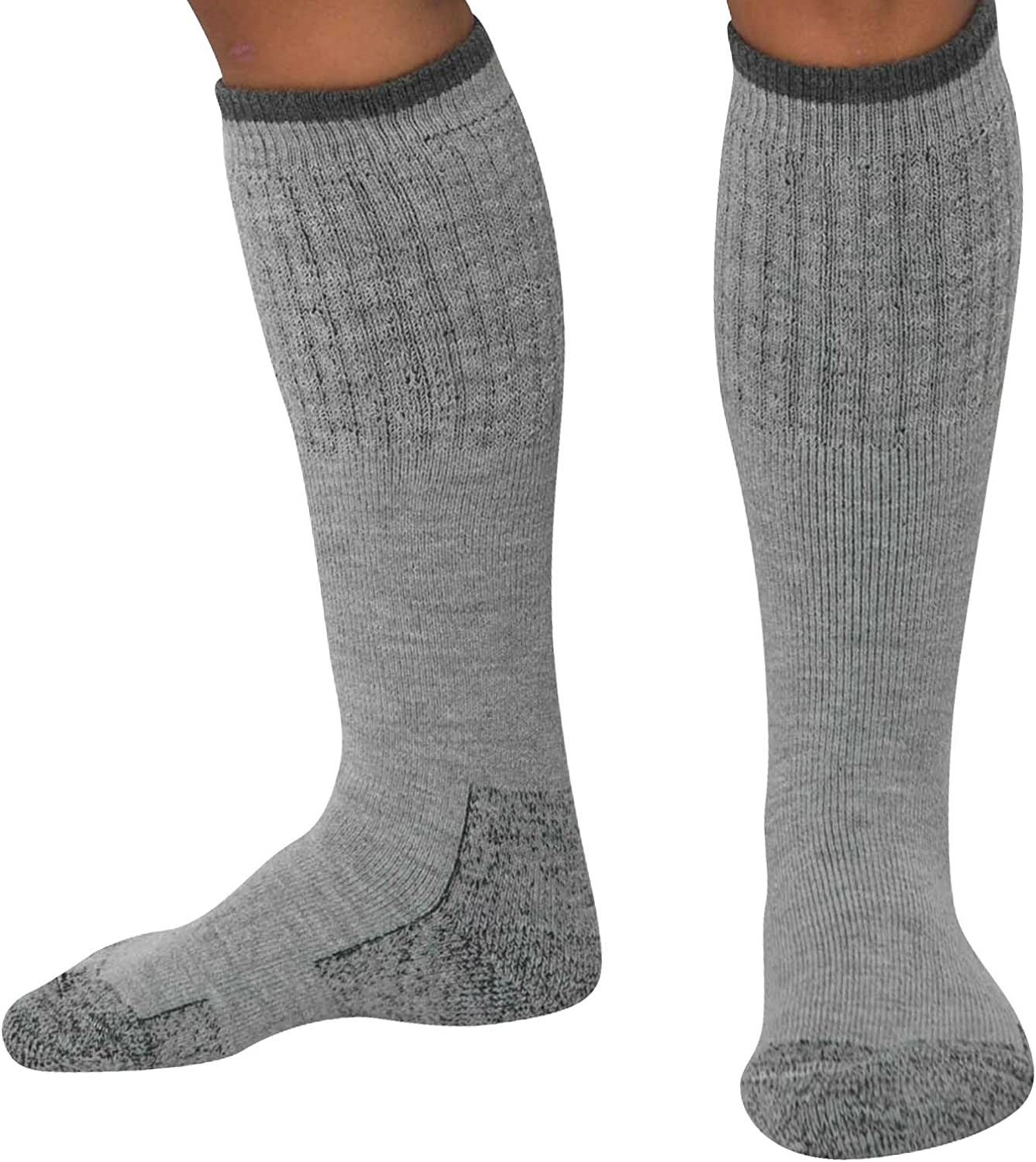 Heavy Work Boot Socks – Durable Comfortable - Great for Hiking, Camping, Hunting