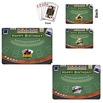 Amazon Actual Deck Of 54 Playing Cards Scratch Off Game Tickets