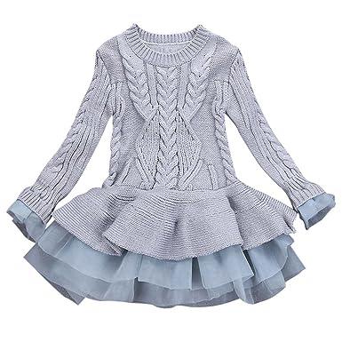 1d8da9017cc3e Jupe Tutu pour Enfant Fille 3-7 Ans Pullover Sweat Manteau Manteaux Chaud  Hiver Blouson