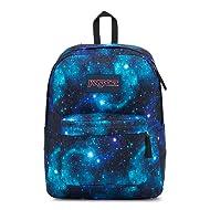 JanSport Superbreak Backpack - Lightweight School Pack, Galaxy