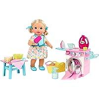 Little Mommy Hora De Comer E Lavar Mattel Loira