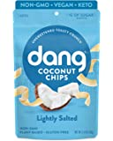Dang Keto Toasted Coconut Chips | Lightly Salted Unsweetened | 1 Pack | Keto Certified, Vegan, Gluten Free, Paleo…