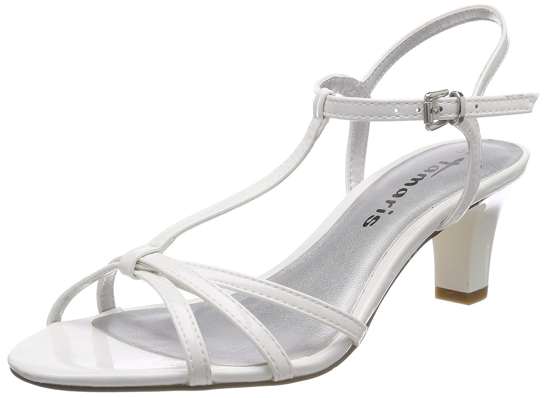 Tamaris Tamaris 28329, Salomés Femme B079BPKNF5 Blanc (White (White Patent) 07ed55c - shopssong.space