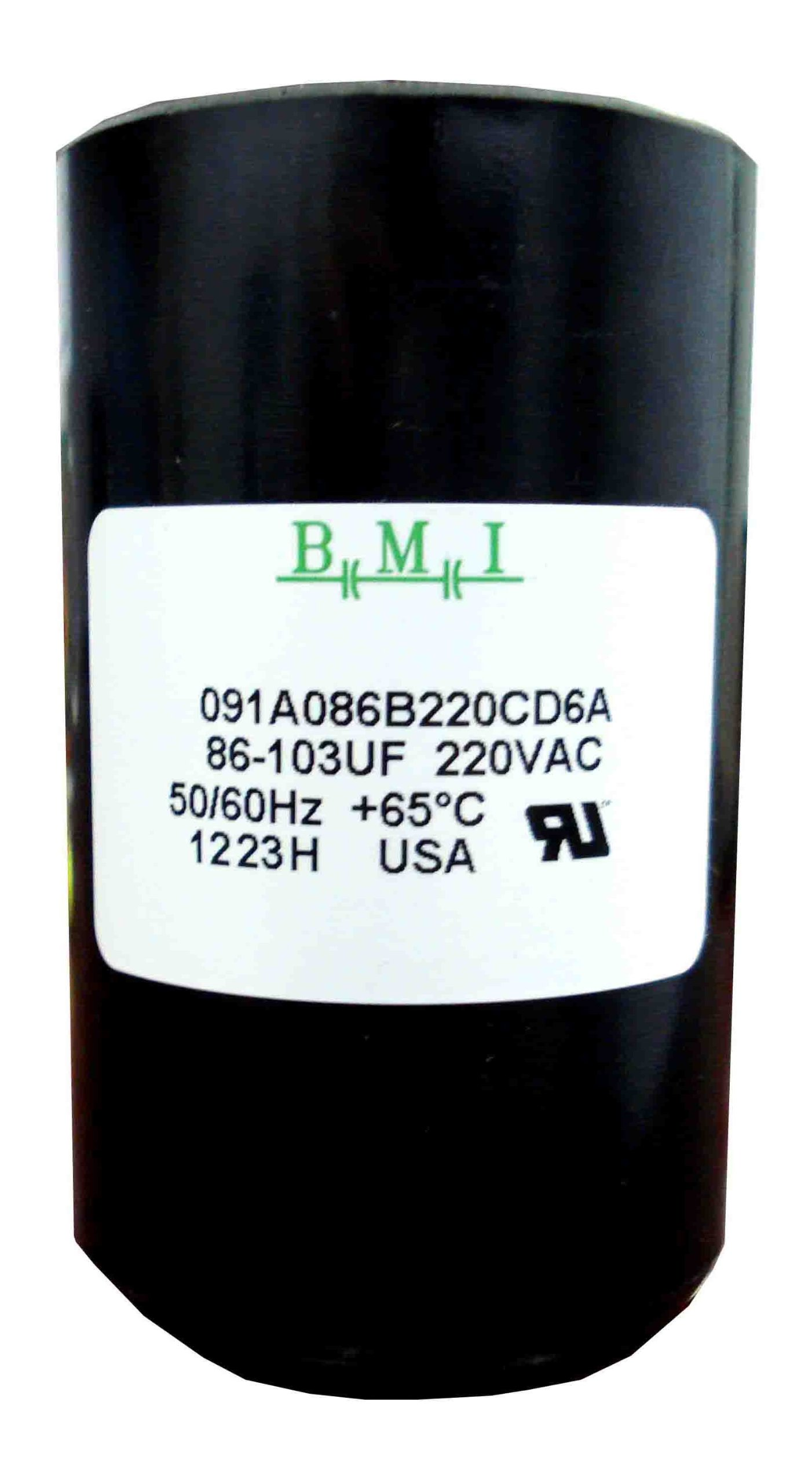 86-103 MFD (uF) 3/4 and 1 HP Well Pump Control Box Motor Start Capacitor 275464118 for Franklin 2801074915, CRC 2824085015 . New