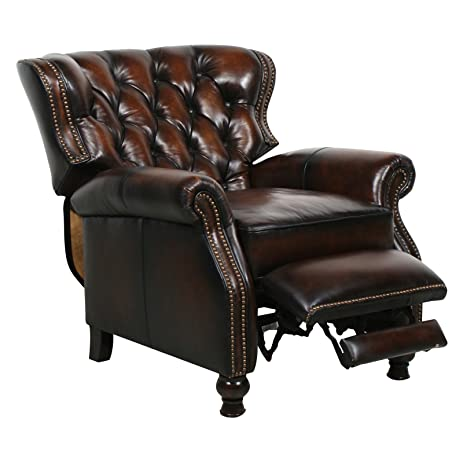 Barcalounger Presidential II Leather Recliner Coffee Leather/Espresso Wood Legs  sc 1 st  Amazon.com & Amazon.com: Barcalounger Presidential II Leather Recliner Coffee ... islam-shia.org