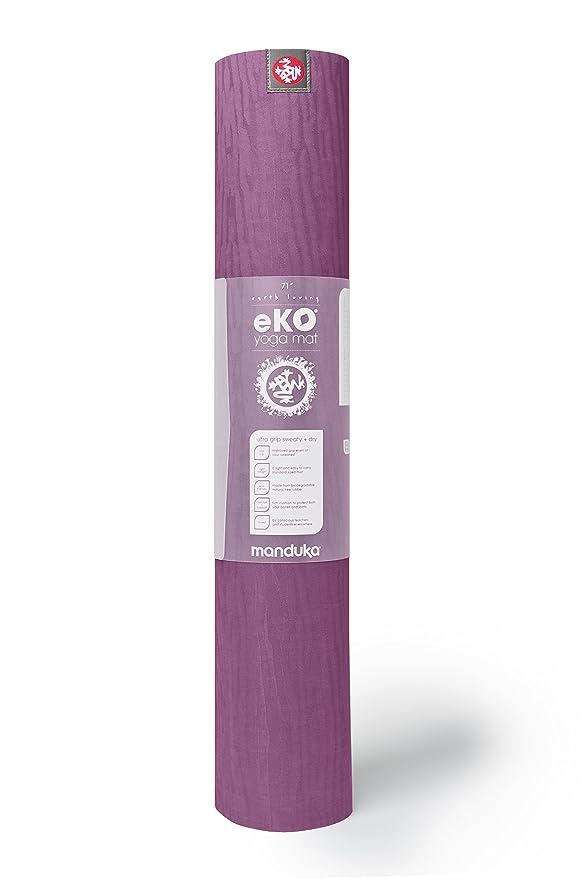 Manduka eko yoga mat Acai long 200cm: Amazon.es: Deportes y ...
