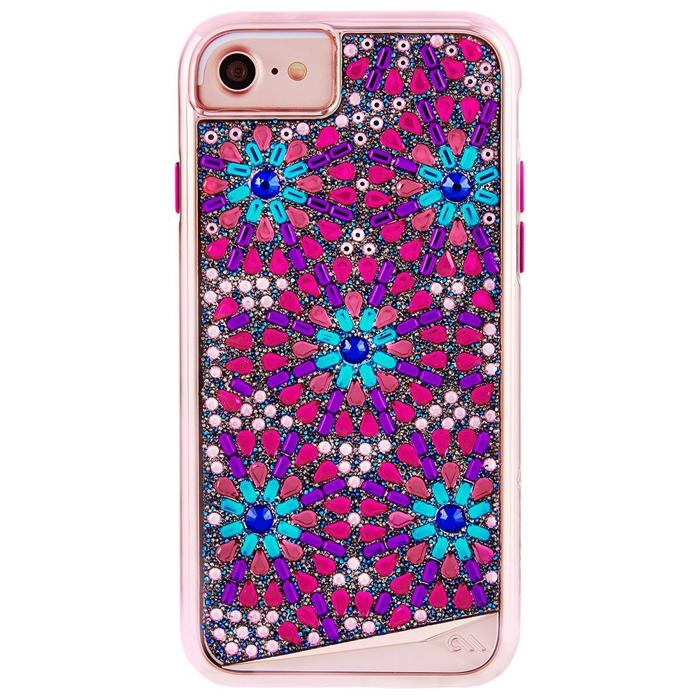 super popular 3f162 10e00 Case-Mate iPhone 8 Case - BRILLIANCE BROOCH - 800+ Genuine Crystals -  Protective Design for Apple iPhone 8 - Brooch