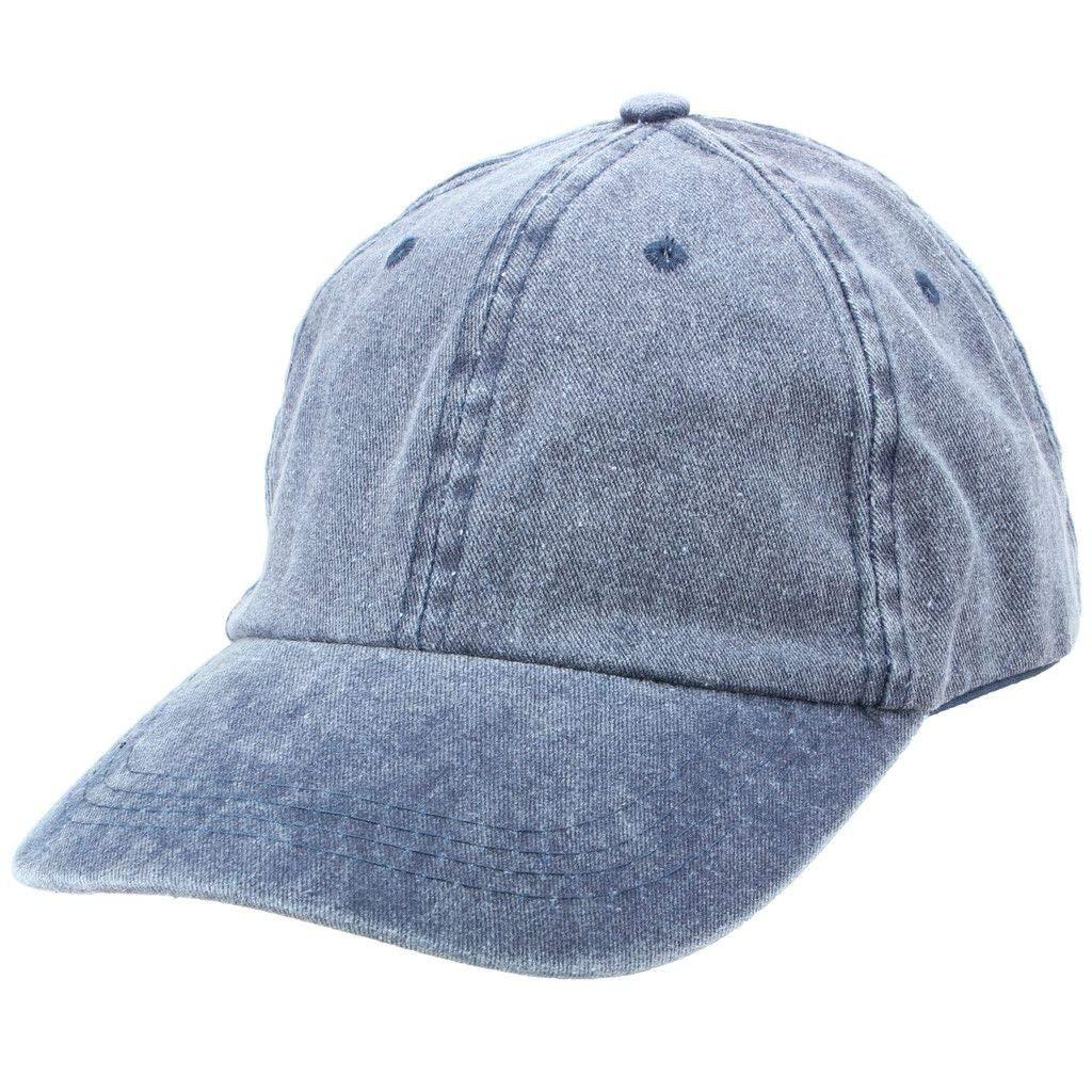 Hawkins Pre-Washed Baseball Cap Hat
