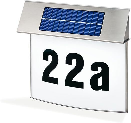 Hausnummernleuchte Solar Wandleuchte Solar Hausnummernleuchte