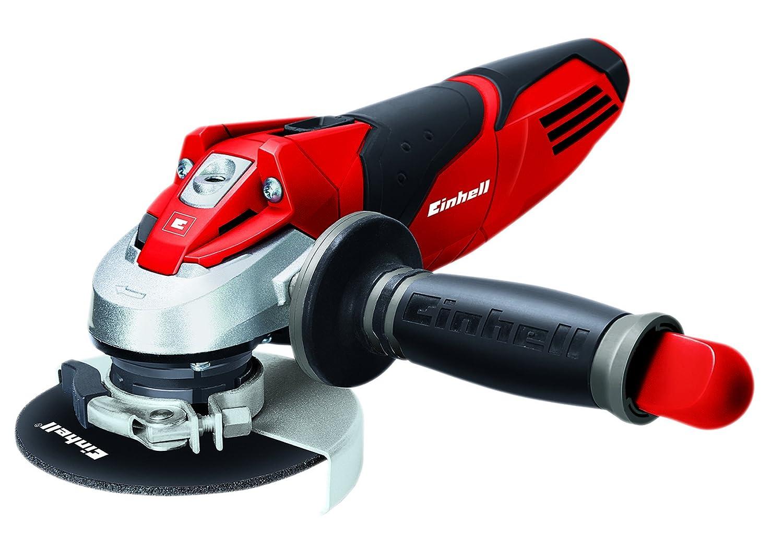 Einhell TE-AG 115/600 -Amoladora Expert , 600 W, 230 V, Rojo/Negro, 125 x 130 x 325 (ref. 4430855) Radial angular pro profesional