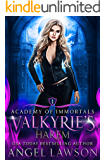 Valkyrie's Harem: Urban Fantasy Romance (Academy of Immortals Book 1)