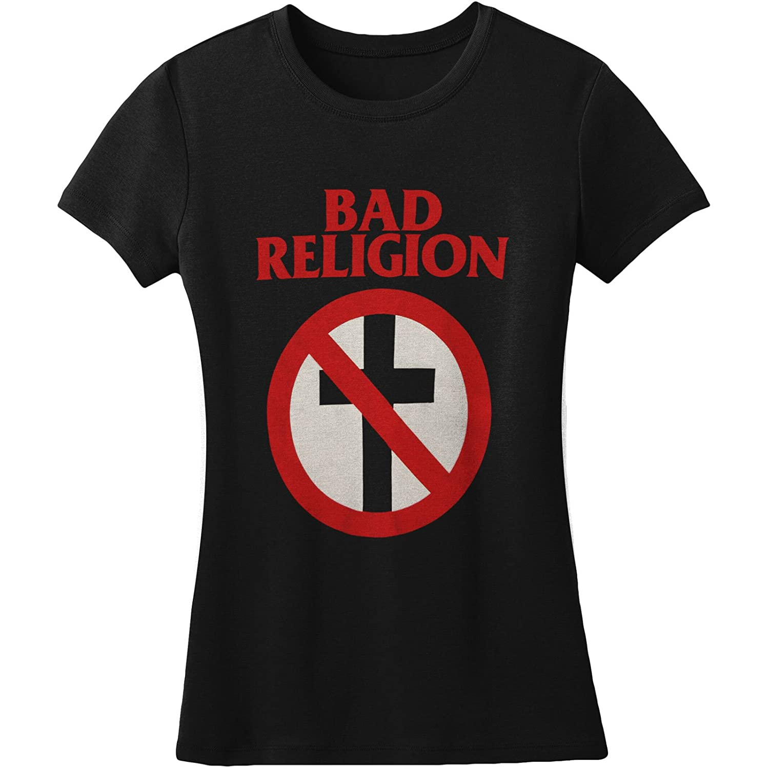 Amazon.com  Bad Religion - Womens Cross Buster T-Shirt  Clothing ee7f14be00