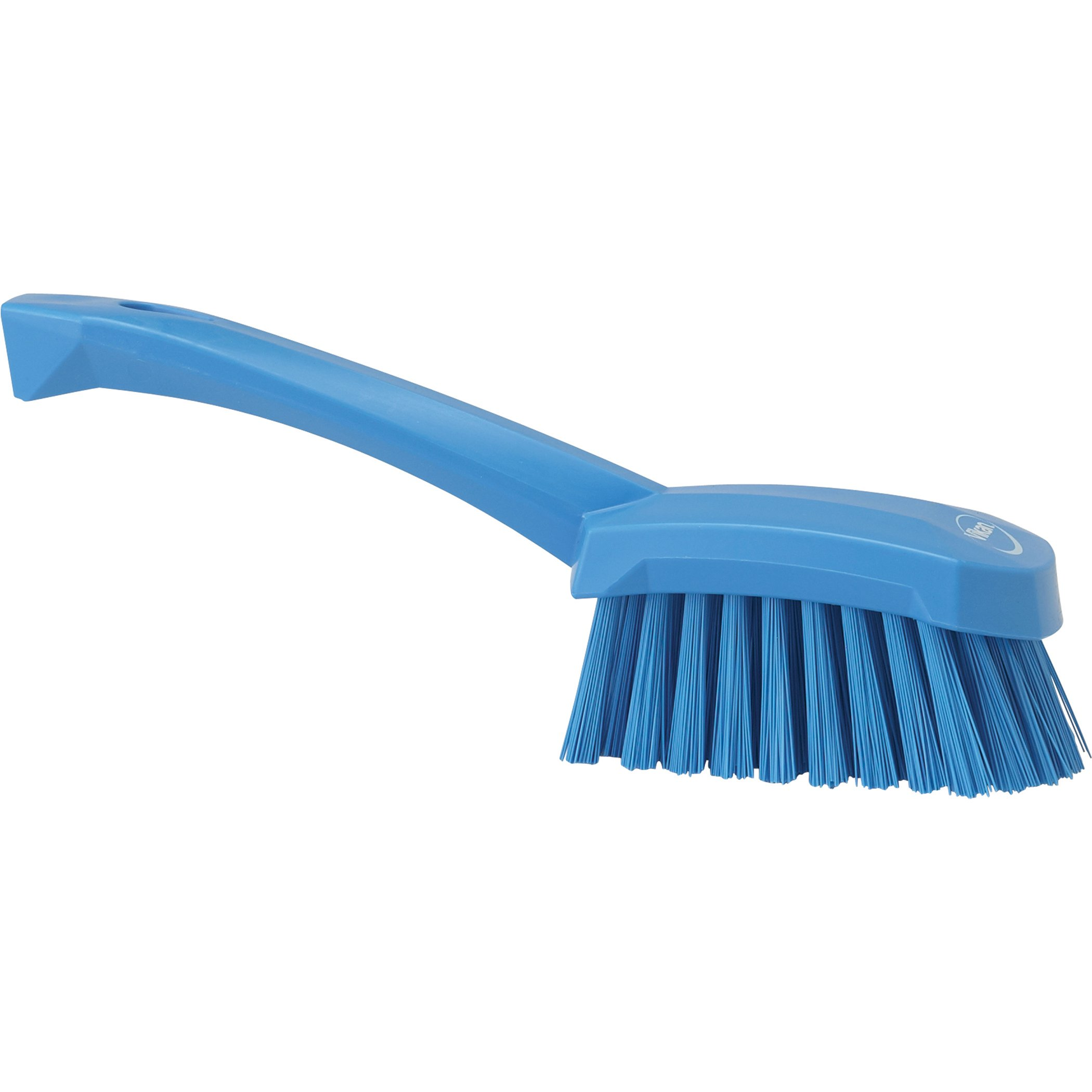 Vikan 41923 Heavy Duty Sweep Hand Brush, Polypropylene, Polyester Stiff Bristle, 10'', Blue by Vikan (Image #2)