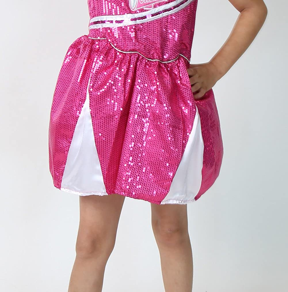 Storybook Wishes Girls Cheerleader Dress Choose Color and Size Making Believe