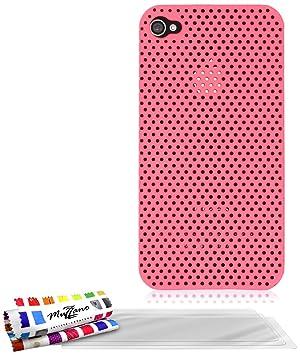 Muzzano F61997 - Funda para Apple iPhone 4S + 3 protecciones ...