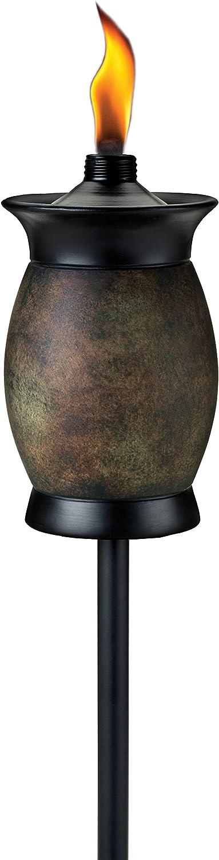 TIKI Brand 64-inch Resin Jar TIKI Torch 4-in-1 Stone Color