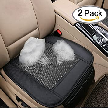 Car Seat Cushion Breathable Rattan Design Pad Interior Covers For Auto Supplies Office