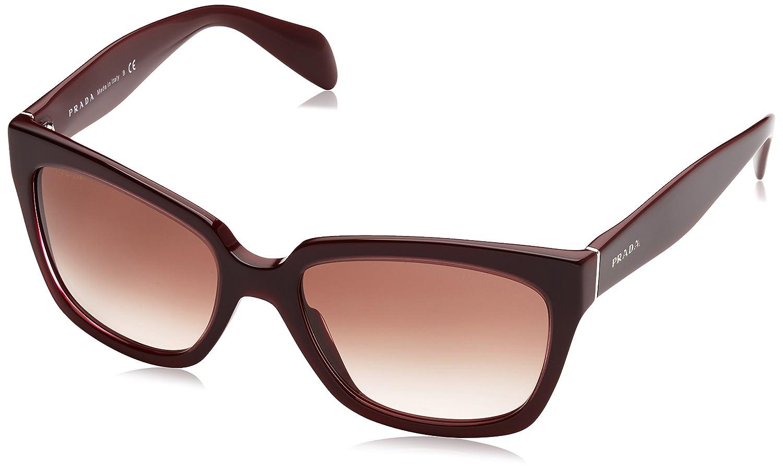 Prada 0PR07PS 1AB0A7 56 Gafas de sol, Negro (Black/Gray ...