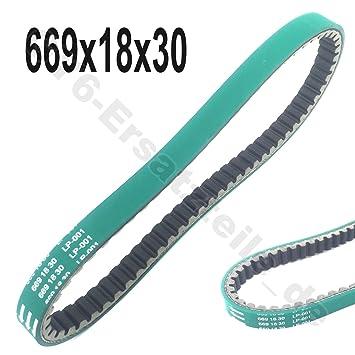 Keilriemen POLINI Kevlar Belt 669-18-30 GY-6 4T f/ür YIYING YY50QT-2
