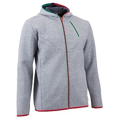 nouveau style aa379 c59f0 QUECHUA 1713909 veste polaire-pull à capuche d'hiver taille ...