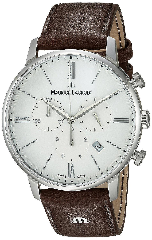 [モーリス ラクロア]Maurice Lacroix 腕時計 'Eliros' Swiss Quartz Stainless Steel and EL1098-SS001-112-1 メンズ [並行輸入品] B0757279S4
